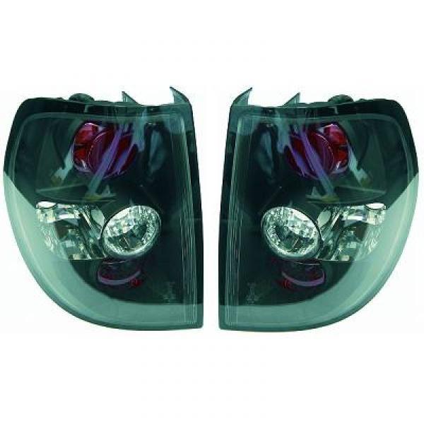 achterlichten volkswagen fox vanaf 2005 zwart 2235195. Black Bedroom Furniture Sets. Home Design Ideas