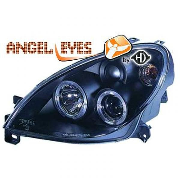 angel eyes koplampen citroen xsara vanaf 1999 zwart 4071381. Black Bedroom Furniture Sets. Home Design Ideas