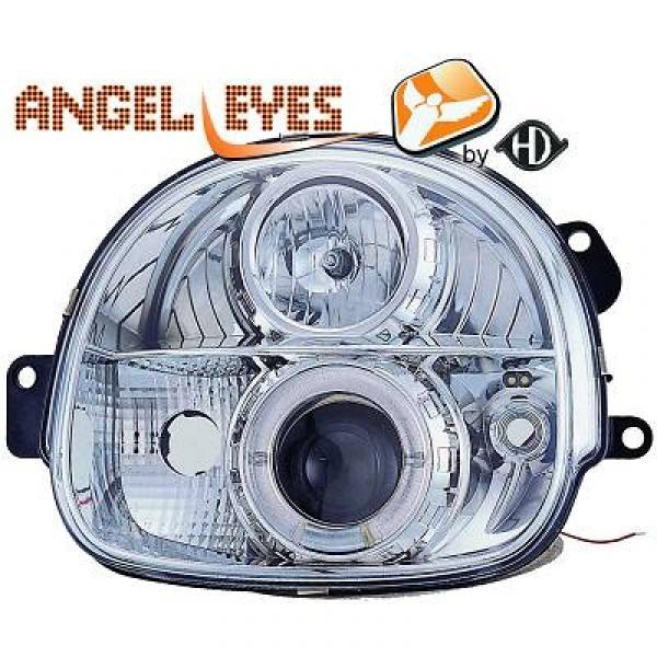 angel eyes koplampen renault twingo 1993 2007 chroom 4480380. Black Bedroom Furniture Sets. Home Design Ideas