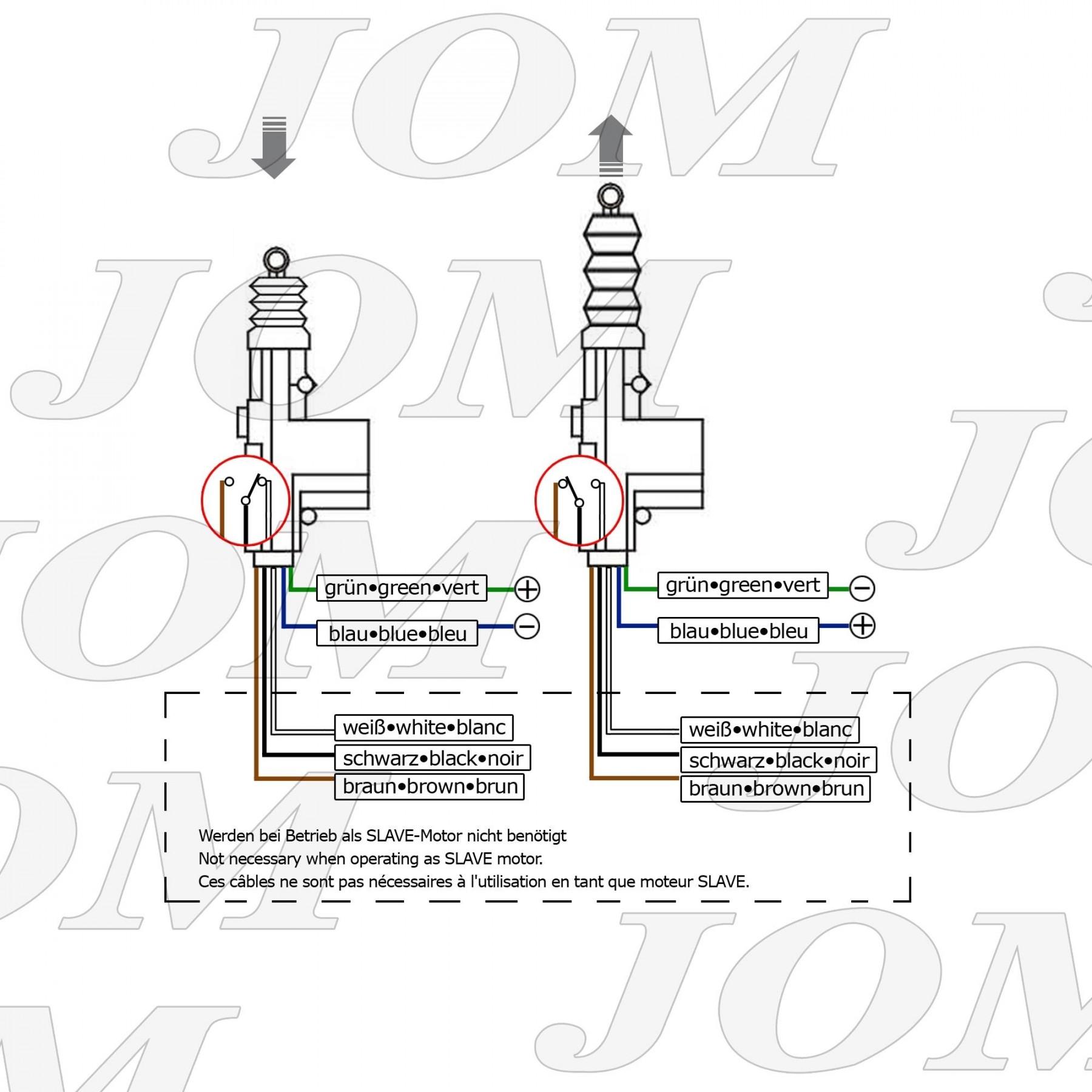 losse deurmotor - 5 draads