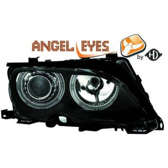 Angel eyes koplampen BMW 3-serie E46