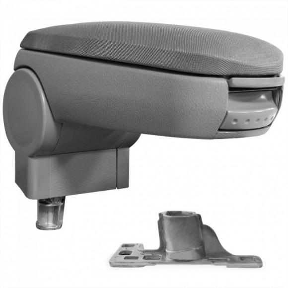Armsteun grijs stof - geschikt voor VW Passat 3B en Audi A4 B5