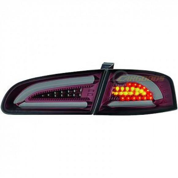 led achterlichten seat ibiza 6l 2002 2008 rood smoke. Black Bedroom Furniture Sets. Home Design Ideas