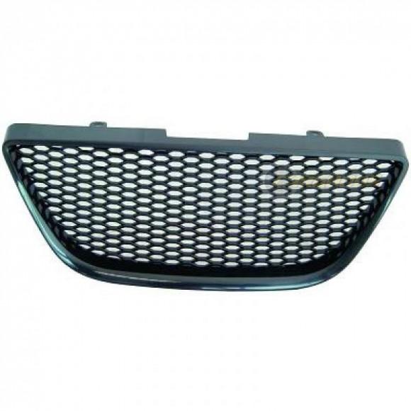 Embleemloze grill Seat Ibiza 6J - Zwart