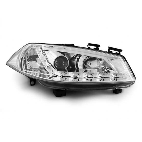 geliefde koplampen met led verlichting renault megane 2 chroom klre150 lm 48