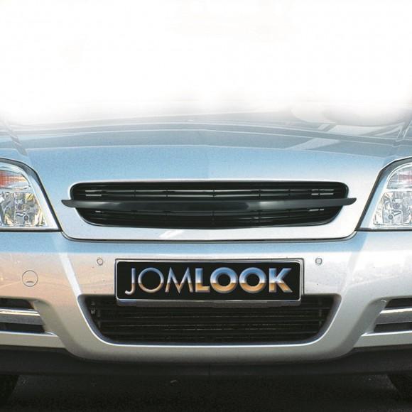 Embleemloze grill Opel Vectra C 2002-2005 -  Zwart