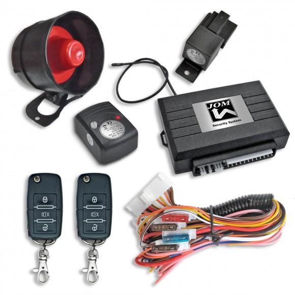 alarmsysteem met klapsleutels jom 7106. Black Bedroom Furniture Sets. Home Design Ideas