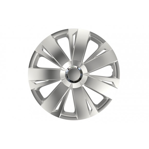 Wieldoppen set Energy RC Chroom/Zilver - 15 inch