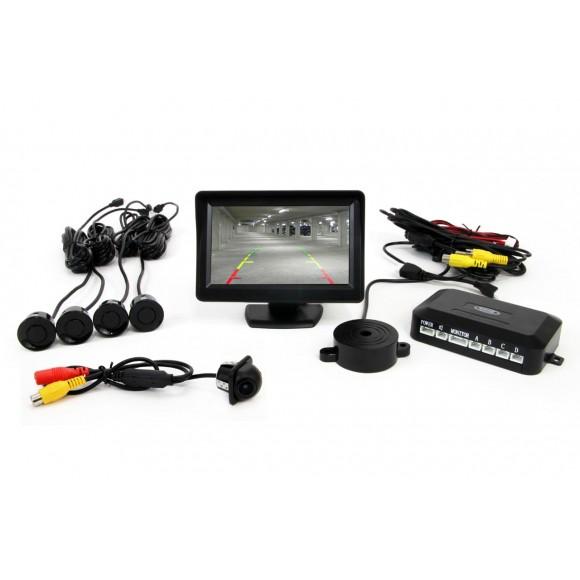 Parkeersensoren / Parkeerhulp met LCD scherm en Camera