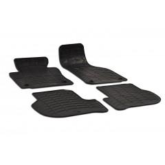 Rubber automatten op maat - VW Golf 5 2003-2009, Golf 6 2009-2011, Jetta 2005-2011 & Scirocco (ovale bevestiging)