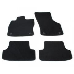 Automatten op maat - zwart velours - Seat Leon 5F 2012-2020
