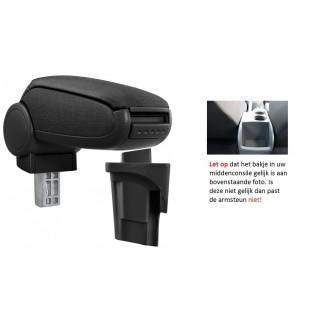 Armsteun Seat Leon 1P zwart stof