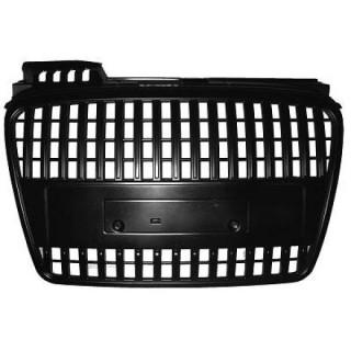 Zwarte Embleemloze grill Audi A4 B7 2004-2007