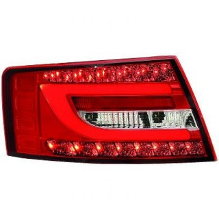 LED Achterlichten Audi A6 4F - Rood/Wit