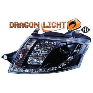Koplampen met LED verlichting Audi TT - Zwart