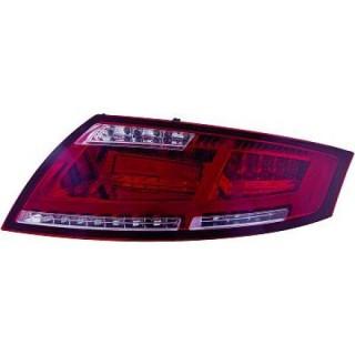 LED Achterlichten Audi TT 8J - Rood/Smoke