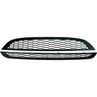 Embleemloze grill set Mini - Carbon-look