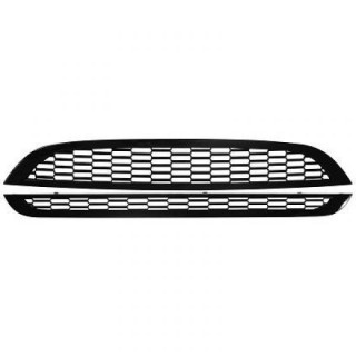 Embleemloze grill set Mini - Glanzend Zwart