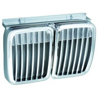 Embleemloze grill BMW 3-serie E30 - Chroom