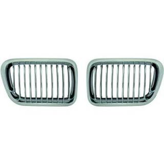 Embleemloze grill set BMW 3-serie E36 - Chroom