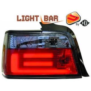 LED Achterlichten BMW 3-Serie E36 - Rood/Smoke
