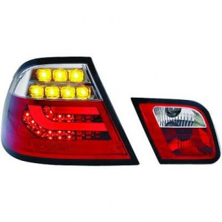 LED Achterlichten BMW 3-Serie E46 Coupe - Rood/Wit