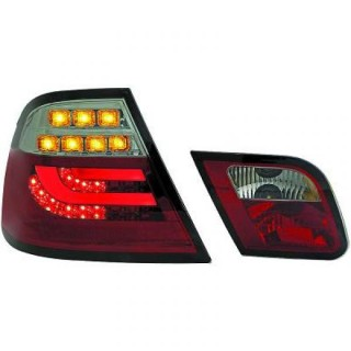 LED Achterlichten BMW 3-Serie E46 Coupe - Rood/Smoke