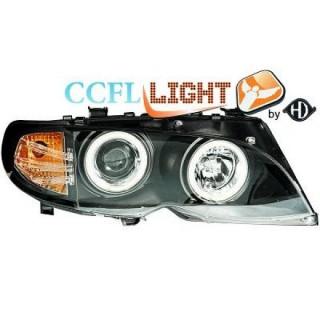 Koplampen met LED verlichting BMW 3-serie E46 - Zwart