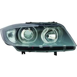CCFL Angel Eyes koplampen Bmw 3-Serie E90/91 Sedan/Touring - Zwart