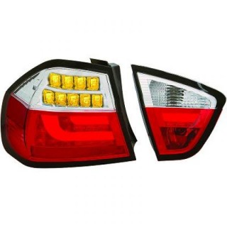 LED Achterlichten BMW 3-Serie E90 - Rood/Chroom