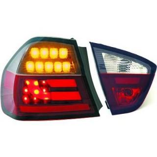 LED Achterlichten BMW 3-Serie E90 - Rood/Smoke