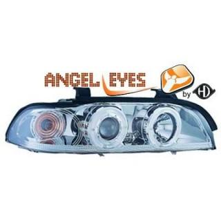 Angel eyes koplampen BMW 5-serie E39 - Chroom