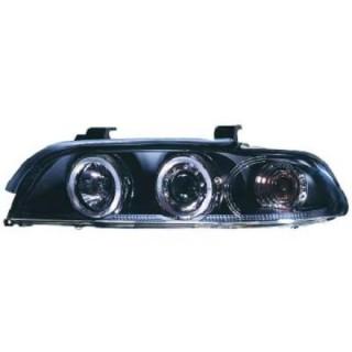 Angel eyes koplampen BMW 5-serie E39 - Zwart