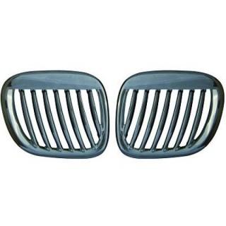Embleemloze grill set BMW Z3 - Chroom
