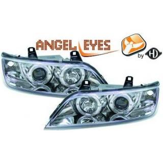 Angel eyes koplampen BMW Z3 - Chroom