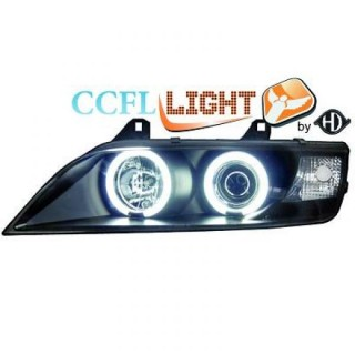 CCFL Angel eyes koplampen BMW Z3 - Zwart