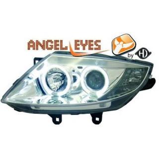 Angel eyes koplampen BMW Z4 - Chroom