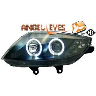 Angel eyes koplampen BMW Z4 - Zwart