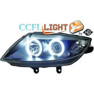 CCFL Angel eyes koplampen BMW Z4 - Zwart