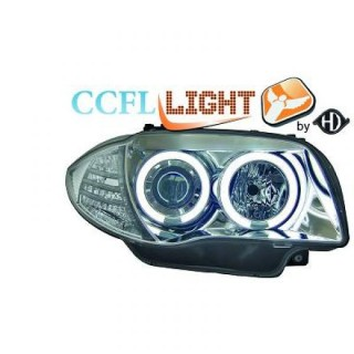 CCFL Angel eyes koplampen BMW 1-serie E87 - Chroom