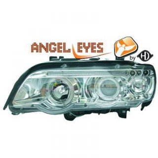 Angel eyes koplampen BMW X5 E70 - Chroom