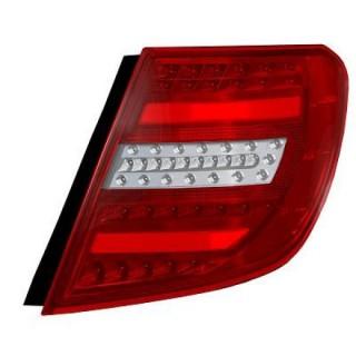 LED Achterlichten Mercedes C-Klasse W204 Station - Rood/Wit