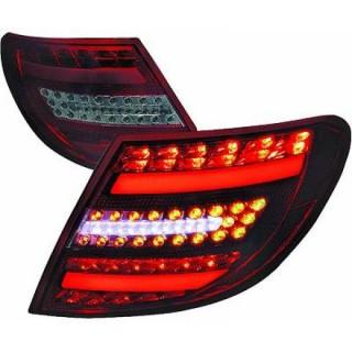 LED Achterlichten Mercedes C-Klasse W204 Sedan - Rood/Smoke