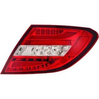 LED Achterlichten Mercedes C-Klasse W204 Sedan - Rood