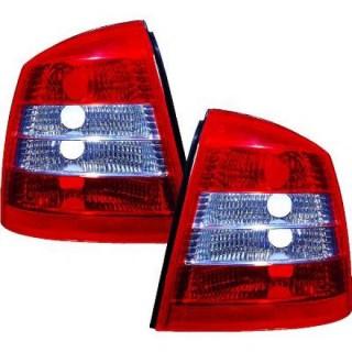 Achterlichten Opel Astra G - Rood