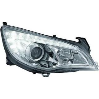 Koplampen met dagrijverlichting Opel Astra J - Chroom