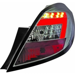 LED Achterlichten Opel Corsa D - Smoke