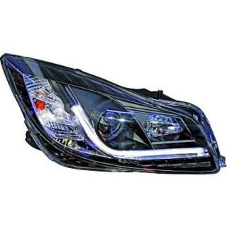Koplampen met Dagrijverlichting Opel Insignia - Zwart