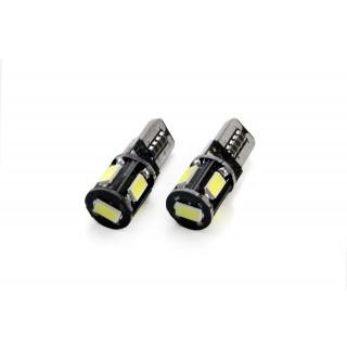 T10 LED Stadslicht met CanBus - 5 SMD Leds