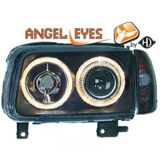 Angel eyes koplampen Volkswagen Polo 6N2 - Zwart